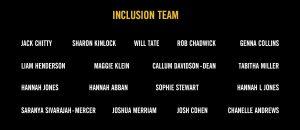 Inclusion Team Board