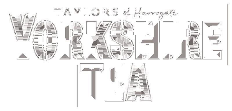 YT logo White